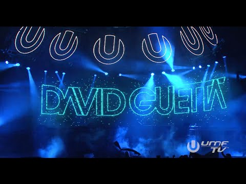 David Guetta at Miami Ultra Music Festival 2015