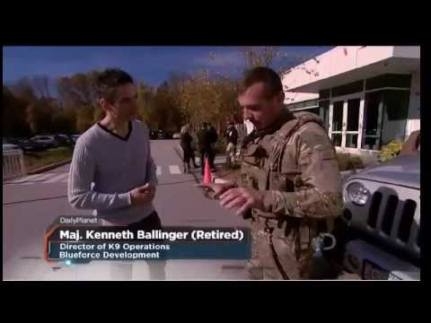 Blueforce on Discovery Channel Daily Planet