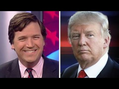 Tucker Carlson reacts to Donald Trump winning the presidency