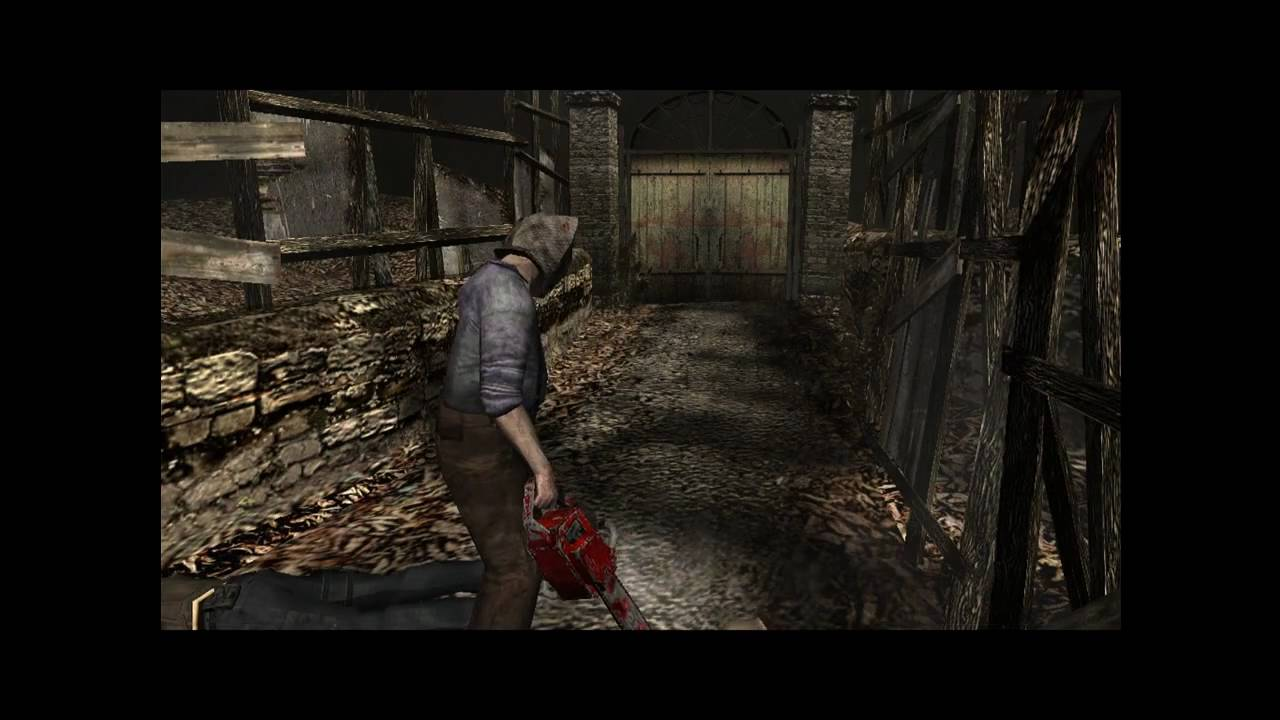 Resident Evil 4 PC Classic Camera Angles Chainsaw Head Cut ...