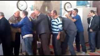 25 10 2012 Yokuşbaşı Köyü Camii nde Bayramlaşma