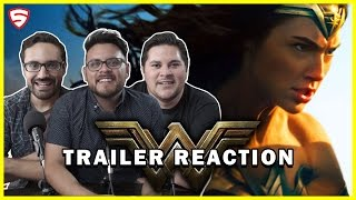 Wonder Woman | Official Trailer Reaction