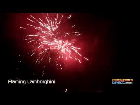 Total FX Flaming Lamborghini -
