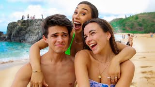 MY EX GIRLFRIEND CRASHED OUR VACATION!!