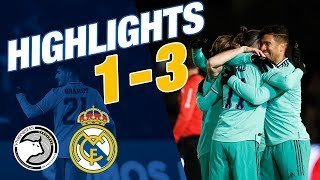 HIGHLIGHTS | Unionistas CF 1-3 Real Madrid | ALL GOALS