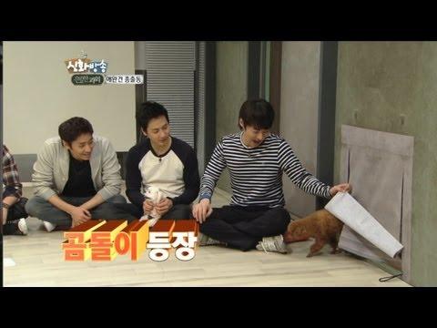[JTBC] 신화방송 (神話, SHINHWA TV) 42회 명장면 - '신화의 강아지를 소개합니다'