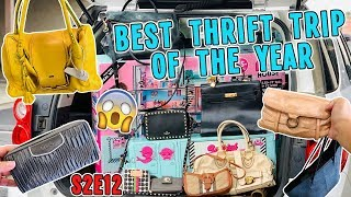 BEST THRIFT TRIP OF THE YEAR | THRIFT VLOG S2.E12