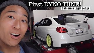 2018 Subaru WRX Gets TUNED! (ca legal)