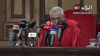 أول تصريح لرئيس المحكمة العليا الجديد بعد تنصيبه رسم ...
