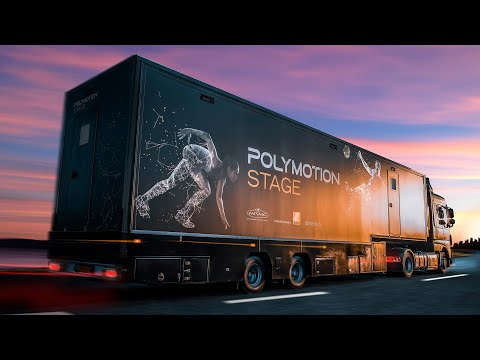 Watch the Polymotion Stage Truck in action.