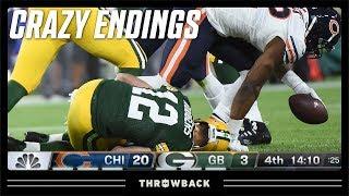 The CRAZIEST Injury Comeback! (Bears vs. Packers, 2018)