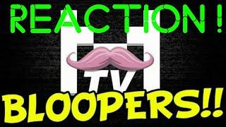 Reaction to Markiplier Tv bloopers !