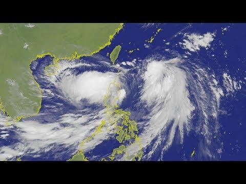 【颱風白鹿最快明天海警 周末影響劇烈 氣象局說明 LIVE】