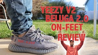 ADIDAS YEEZY BOOST 350 V2 BELUGA 2.0 REVIEW & ON FOOT