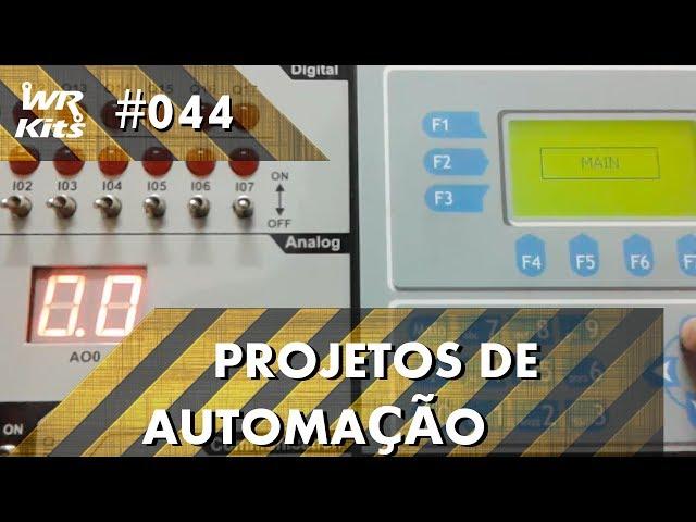 PROTEÇÃO DE MENUS IHM EM CLP ALTUS DUO | Projetos de Automação #044