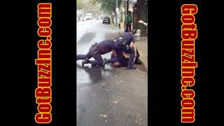 Reading PA Police Officer's caught on camera assaulting a black pedestrian