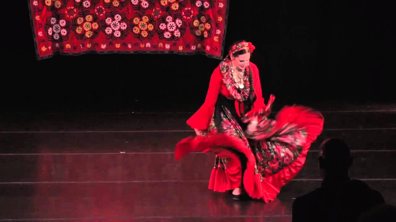 Russian Gypsy Dance By Nomad Dancers Youtube