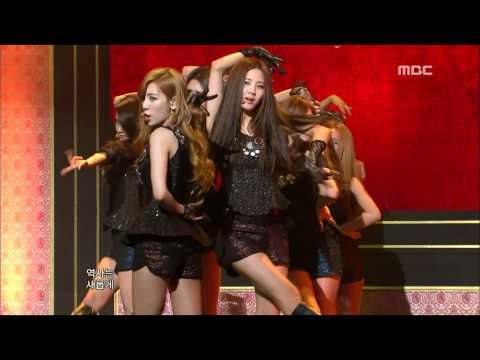 Girls' Generation SNSD - The Boys 소녀시대 - 더 보이즈 Music Core 20111112