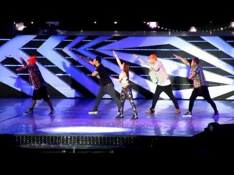 [FANCAM] 121123 BoA ft EXO Sehun - Only One @ SMTOWNSG