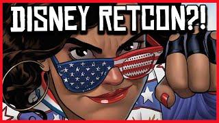 Marvel Comics RETCONS America Chavez Origin for Disney's MCU Phase 4?!