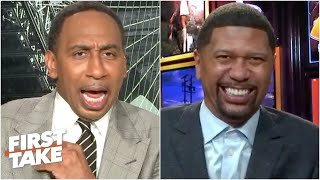 Jalen Rose's NBA playoff idea prompts Stephen A. to make an early exit | First Take