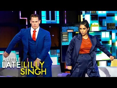 John Cena Does John Cena Dance Challenge with Lilly