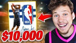 I Spent $10,000 On RARE NBA Packs! *Crazy Pull*