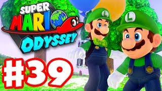 Super Mario Odyssey - Gameplay Walkthrough Part 39 - Luigi's Balloon World DLC! (Nintendo Switch)