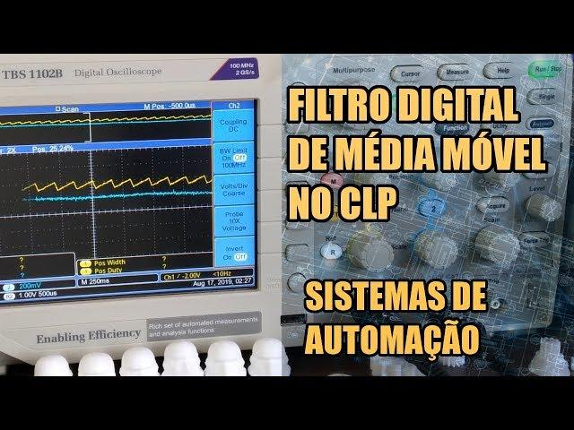 MÉTODO PROFISSIONAL PARA FILTRAR ENTRADAS ANALÓGICAS | Sistemas de Automação #017