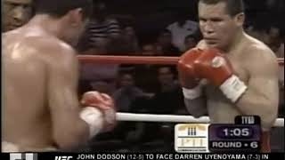Oscar De La Hoya Vs Julio Cesar Chavez II Highlights