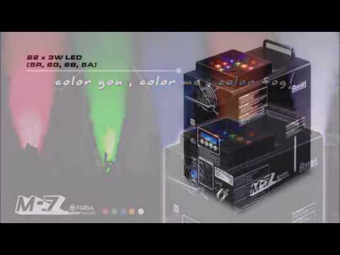 Antari M-7 Multi-Position Vertical Fogger with RGBA LEDs