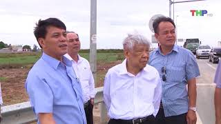 Nguyên Tổng Bí thư Lê Khả Phiêu thăm thành phố Hải Phòng