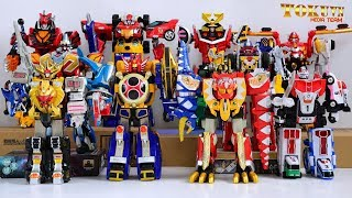 All Super Sentai NewGen Main DX Gattai Robo 2001 - 2010! スーパー戦隊ロボ! 2001 - 2010