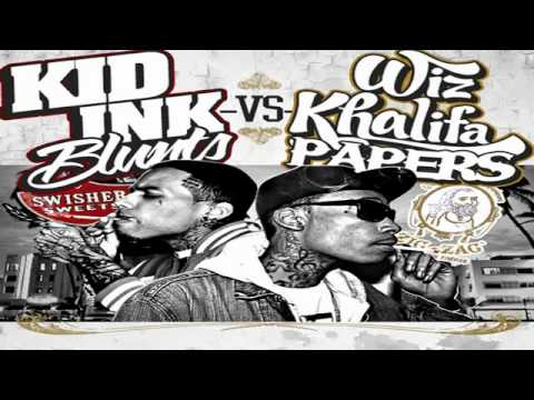 Kid Ink - Blowin' Swishers - (Blunts vs. Papers Mixtape)