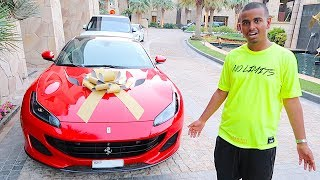 DUBAI'S RICHEST KID NEW CAR BIRTHDAY SURPRISE !!!