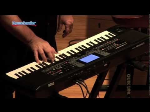 Korg microArranger Video Demo - Sweetwater
