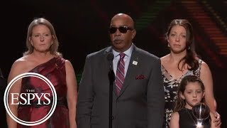 Families, friend of late Stoneman Douglas High School coaches call for change | 2018 ESPYS | ESPN