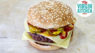 HOMEMADE QUARTER POUNDER RECIPE