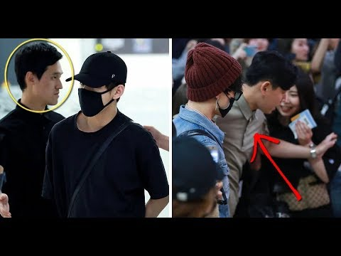 10 Times BTS's Security Staff Protected BTS From Sasaengs And Danger