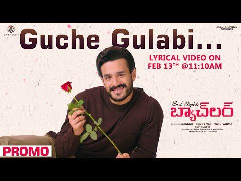 Most Eligible Bachelor: Guche Gulabi song release promo ft. Akhil Akkineni, Pooja Hegde