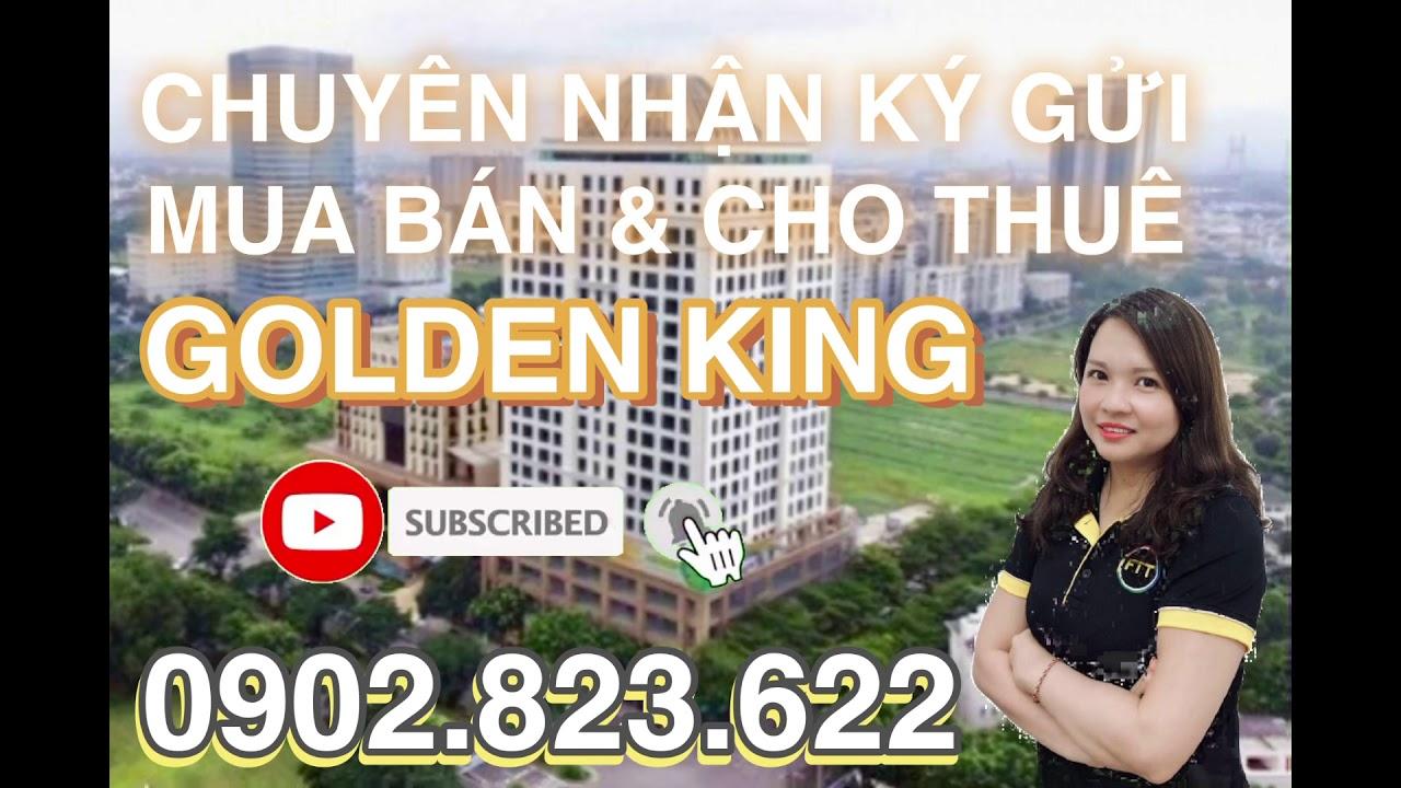 Chính chủ cho thuê căn hộ officetel cao ốc Golden King, tầng cao view đẹp, phong thủy tốt, KD tốt video