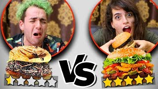 1 Star vs 5 Star Burger - Experiment (I WAS SHOCKED!!!) | Food Fun