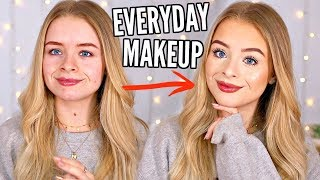 EVERYDAY MAKEUP ROUTINE!! MARCH 2019  | sophdoesnails