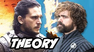 Game Of Thrones Season 8 Jon Snow Tyrion Theory -