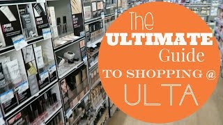 HOW TO SHOP AT ULTA || Ultimate Guide || 13 Ulta Shopping Tips || Hallie Anne