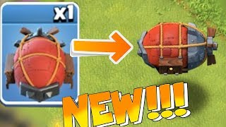"NEW BATTLE BLIMP!!! NEW UNIT GAMEPLAY!! ""Clash of clans"" NEW UPDATE"