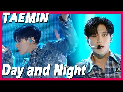 [Comeback Stage] TAEMIN - Day and Night, 태민 - 낮과 밤 20171209