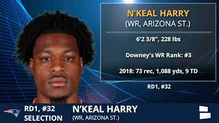 N'Keal Harry Selected By Patriots With Pick #32 In 1st Round of 2019 NFL Draft - Grade & Analysis