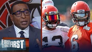 Baker Mayfield's career is not contingent on OBJ - Cris Carter | NFL | FIRST THINGS FIRST
