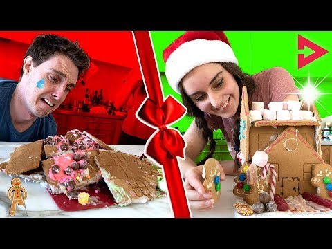 CLICKMAS GINGERBREAD CHALLENGE! Ft. Lazarbeam, Muselk,  Loserfruit, Crayator, BazzaGazza and Marcus